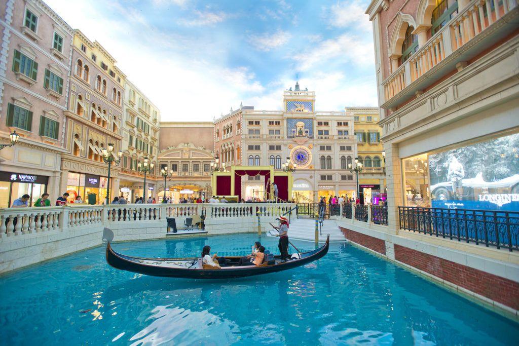 Macao tiene su propio Las Vegas y su The Venetian Hotel