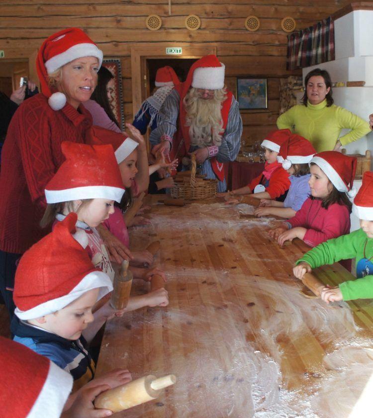 Galletas Laponia viajes niños familia