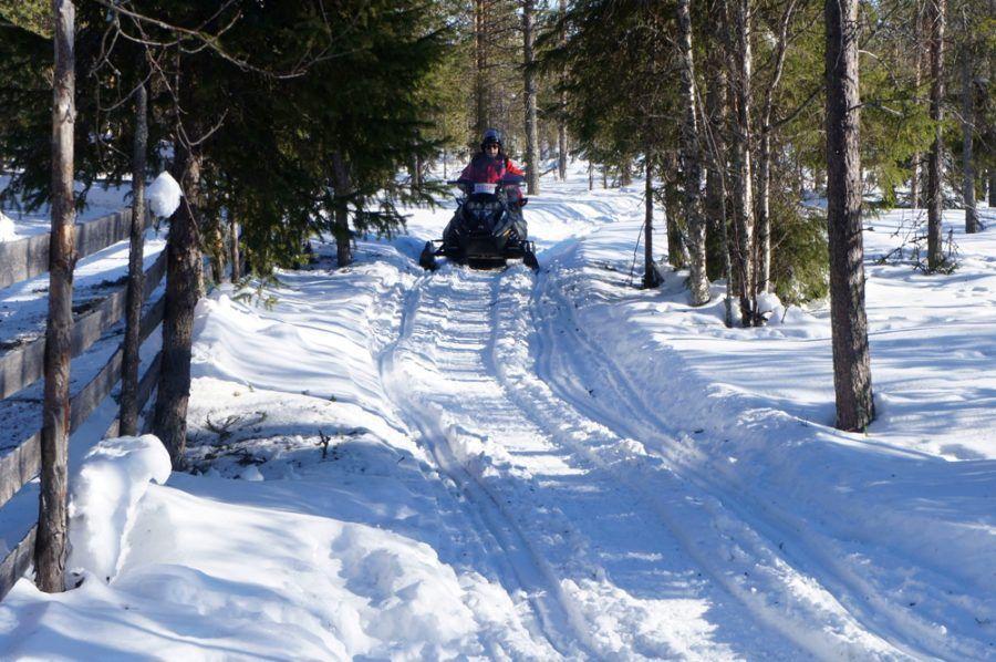 nieve Laponia viajes mujeres niños familia