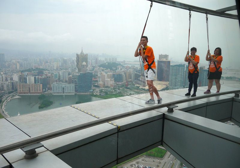 Saltos desde la Torre de Macao, un viaje de aventura