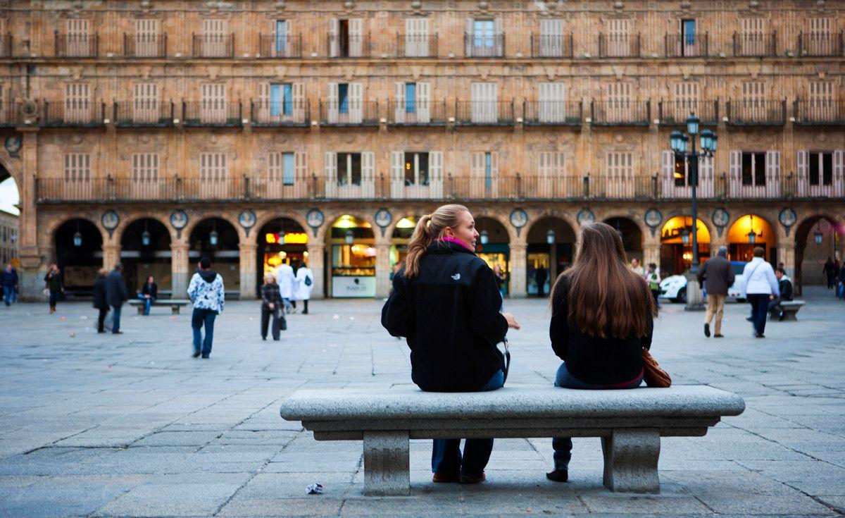Plaza Mayor Viaje para mujeres en Salamaca
