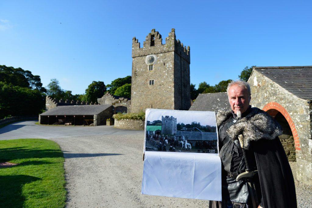 Casa de los Stark en Castle Ward Juego de Tronos Viaje a Irlanda