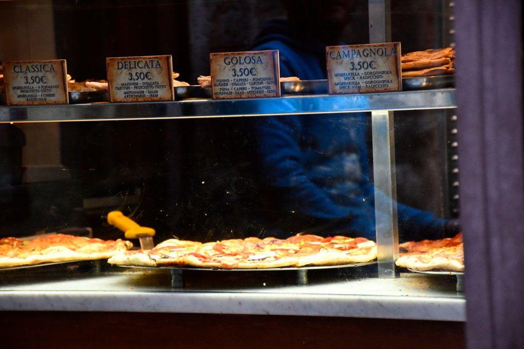 Florencia familia comida italiana niños