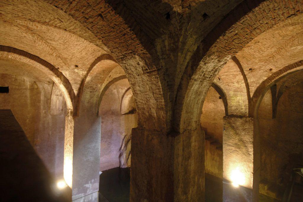 Aljibe del Palacio de las Veletas (Cáceres)