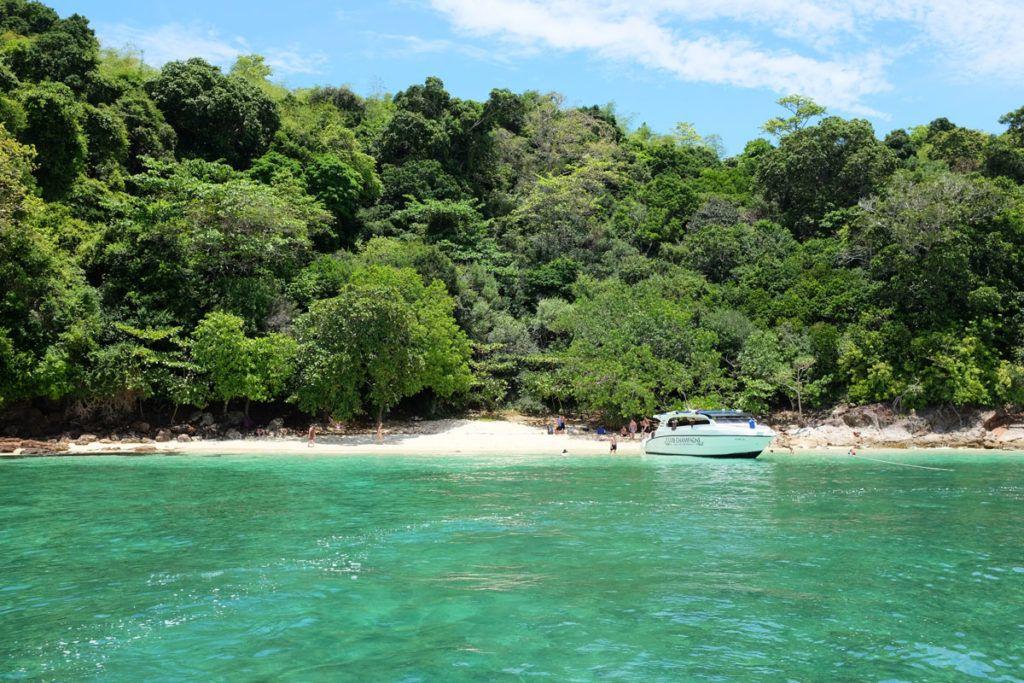 Mar de Andaman, viaje de novios, luna de miel