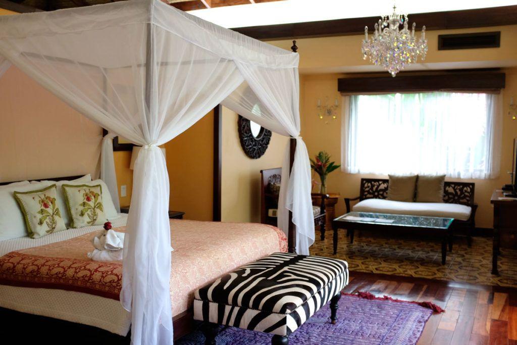 Villa romántica Costa Rica lujo viajes