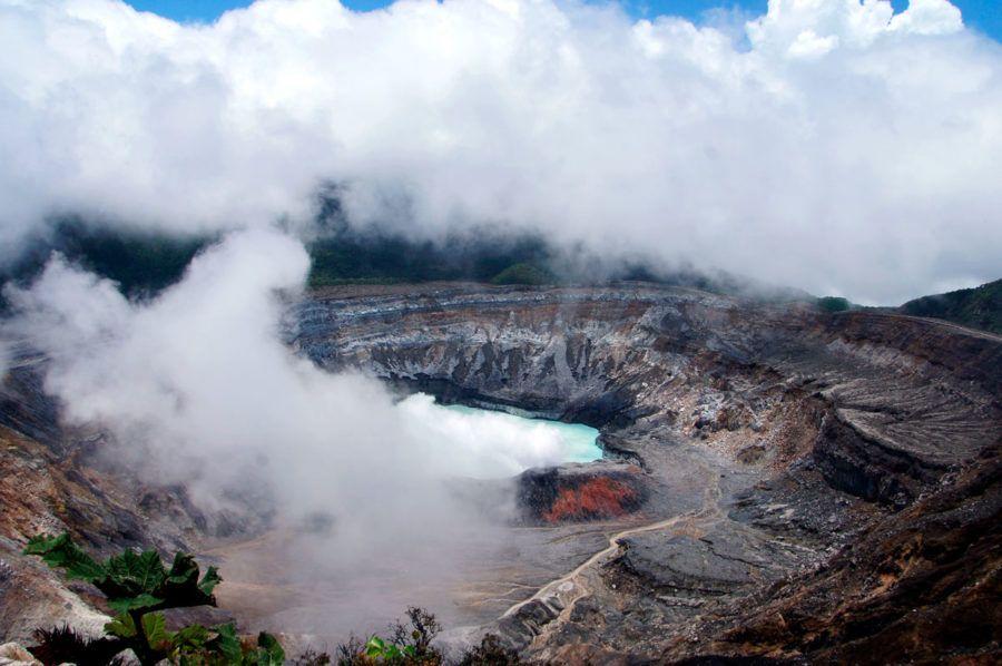 volcan Poas en Costa Rica