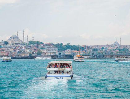 Cruceros por el Bósforo en Estambul.