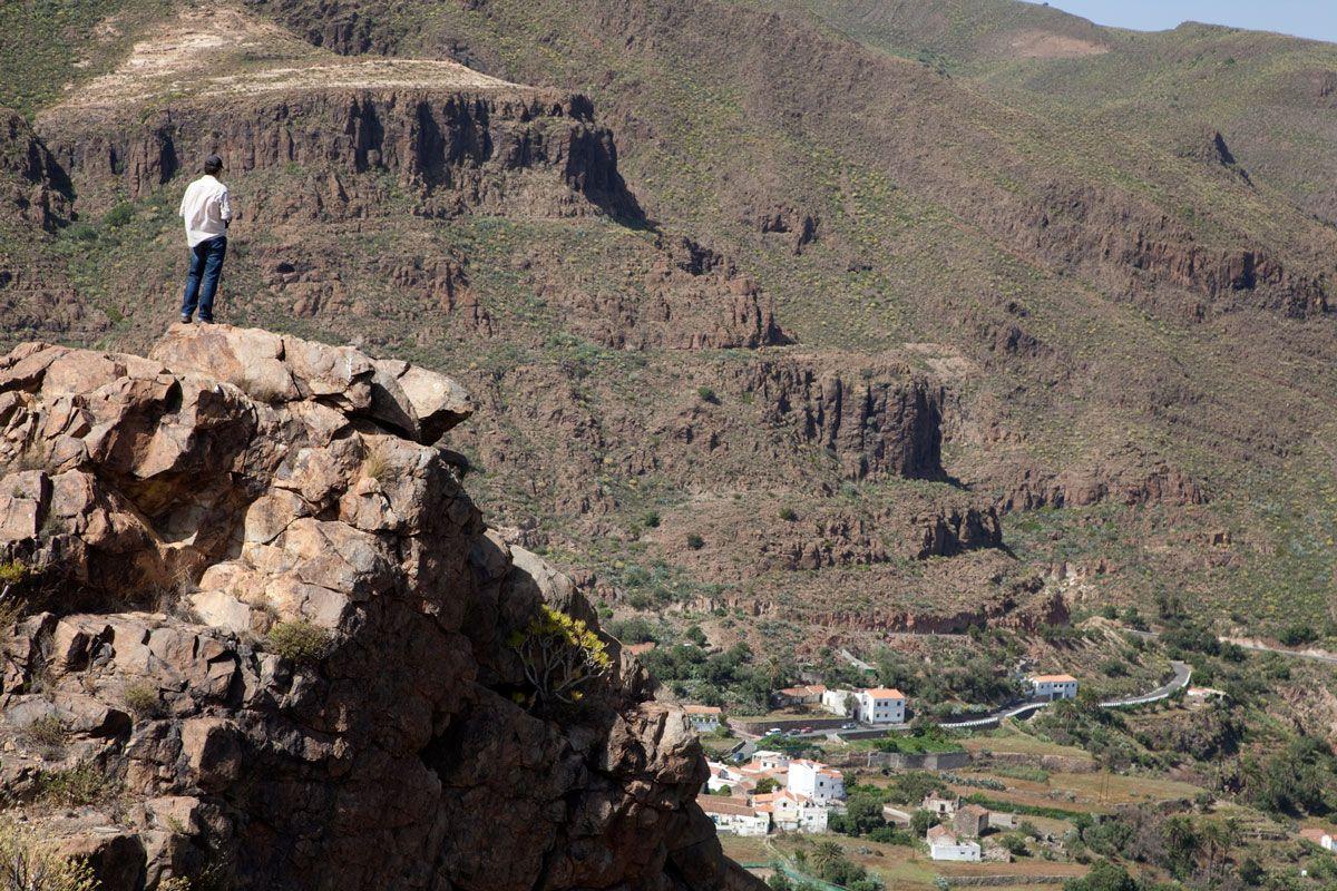 Viaje de Aventura a Gran Canaria población de Temises