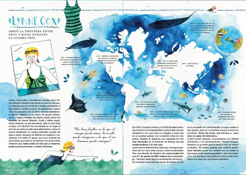 Mujeres Viajeras libro Intrepidas Editorial Pastel de Luna