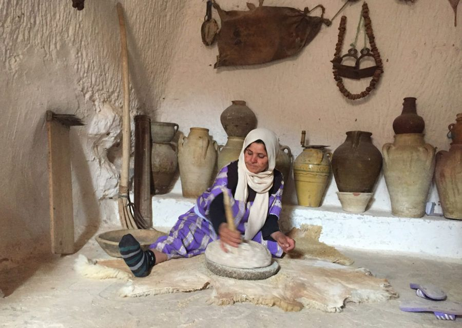 Cuevas trogloditas Matmata Túnez