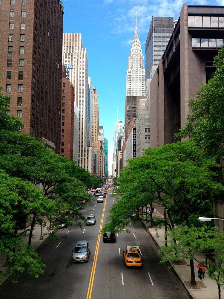 Calle de Nueva York.