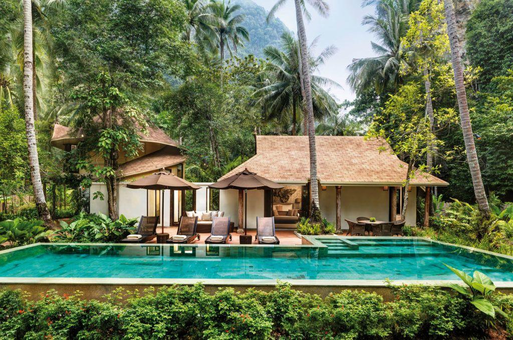 hotel Krabi escapada familiar viajes niños lujo Tailandia