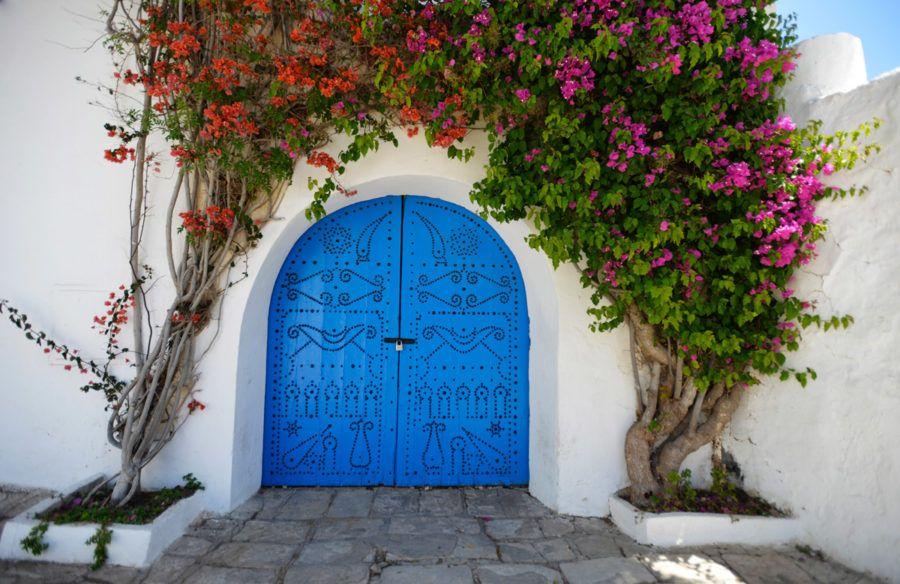 Sidi Bou Saïd, una ruta viajera en Túnez