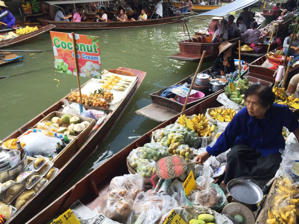 Bangkok mercadillo viaje Asia