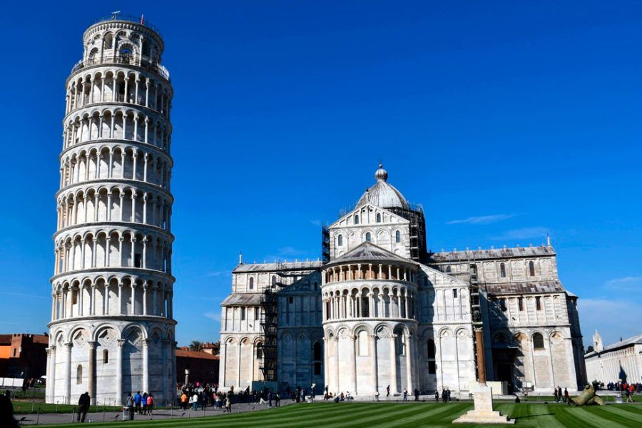 Plaza de Duomo en Pisa
