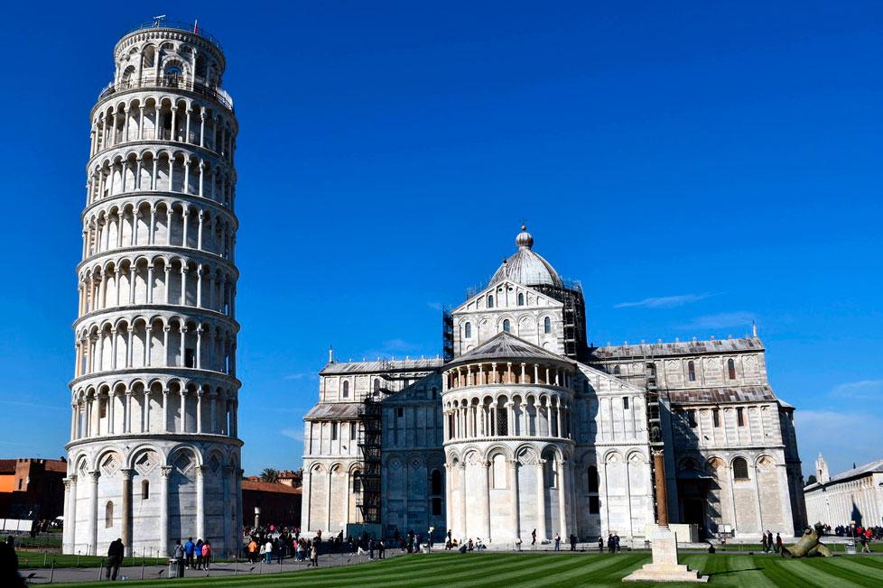 Toscana en coche arquitectura arte