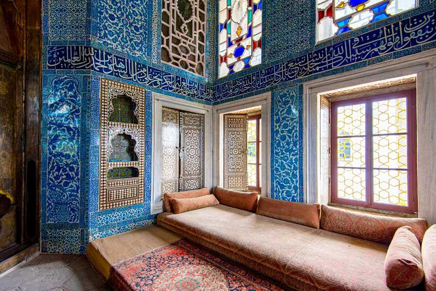 Interior del Palacio Topkapi.