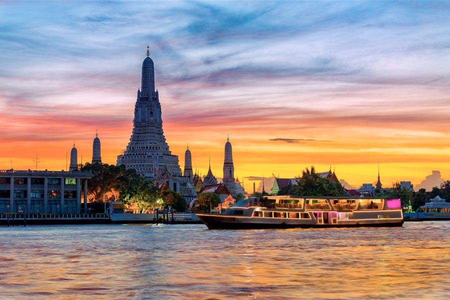 Crucero por el río Chao Phraya