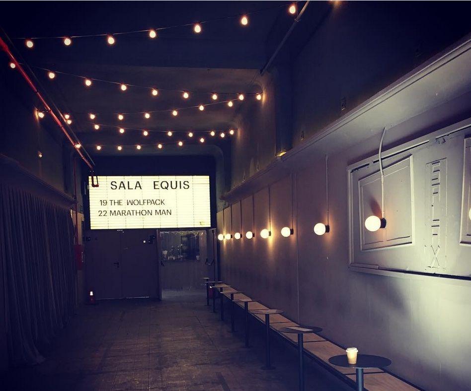 Sala equis, un antiguo cine para adultos