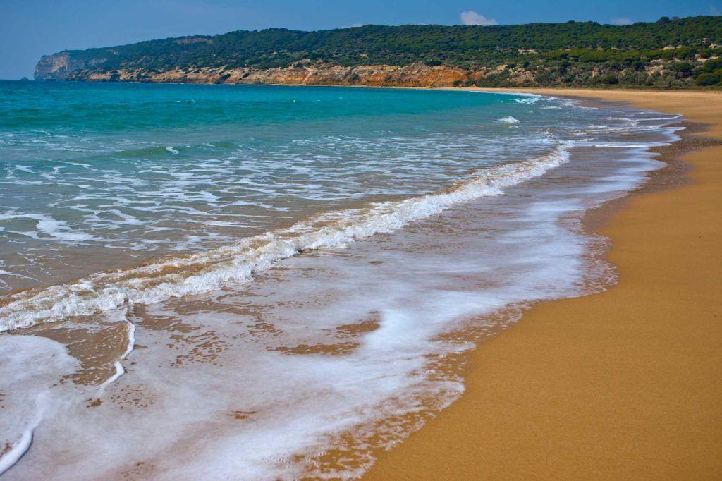 Playa Yerbabuena Barbate ruta del atún