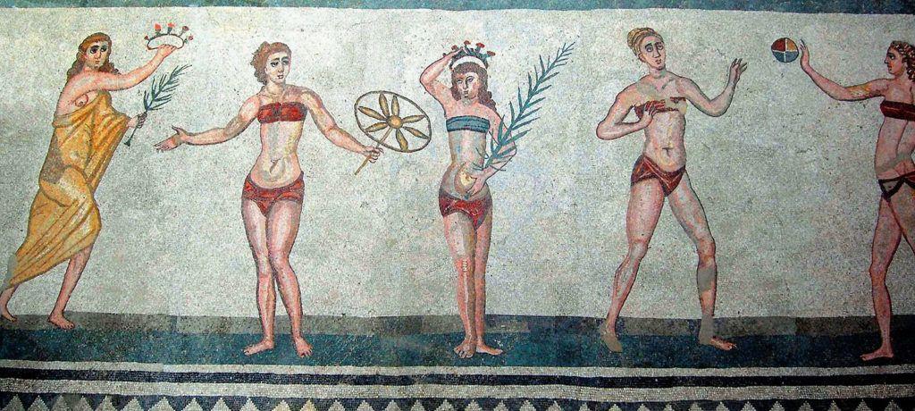 villa romana casale sicilia