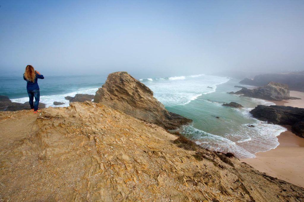 Cabo Sardao Ruta Vicentina viaje aventura Portugal