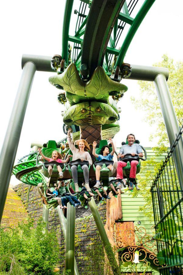 viajes con niños, parques de atracciones, viajes en familia, viajes a Europa