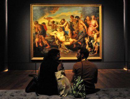 Mujeres pintoras en museo MAS amberes Bélgica