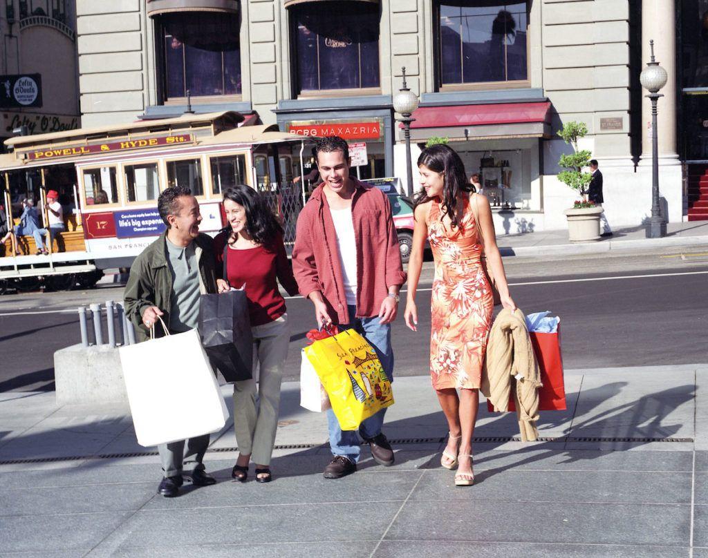 compras viaje san francisco