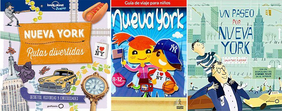 Guías y libros de Nueva York para niños.