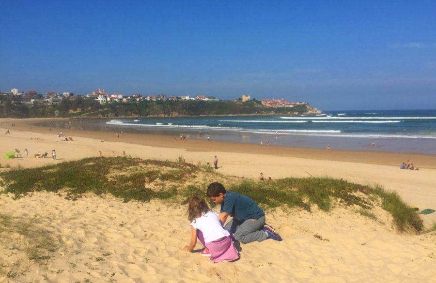 Playa suances viajes familia Cantabria