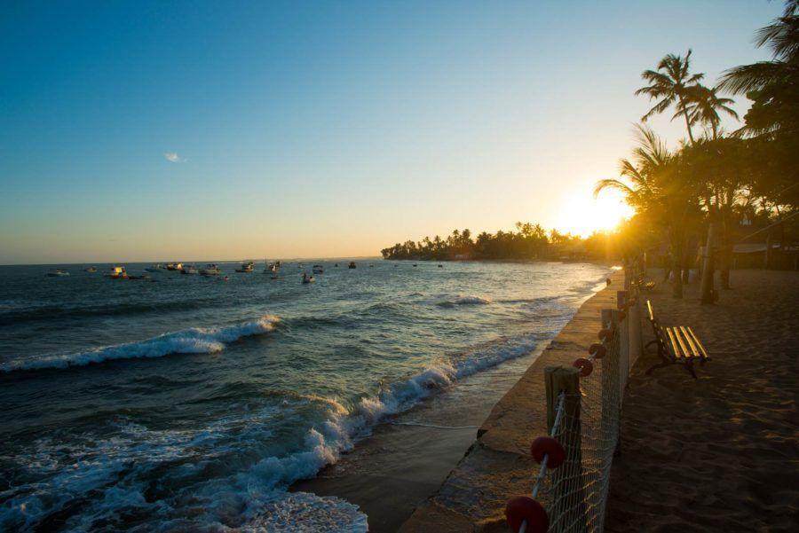 pueblo praia do forte viaje brasil