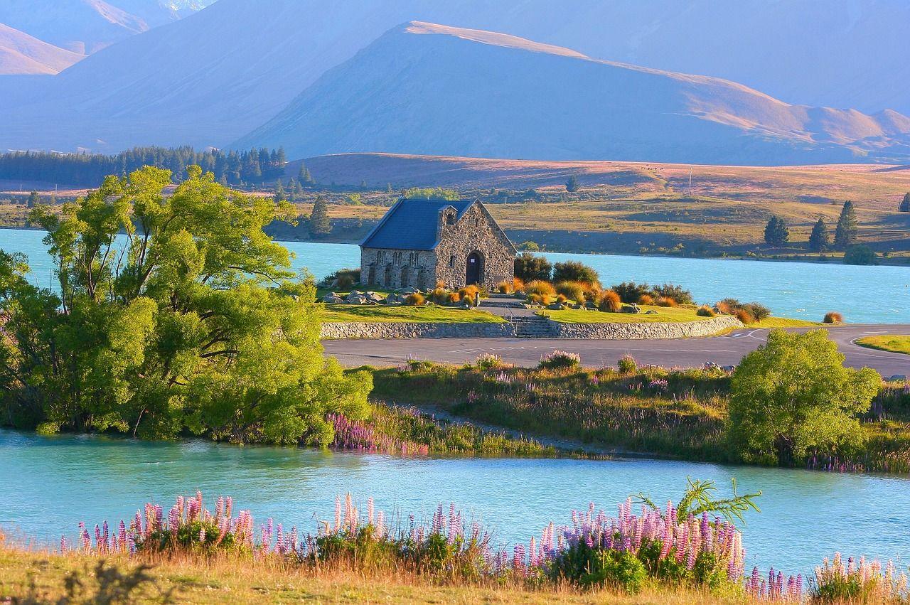 lago tekapo viaje autocaravana nueva zelanda