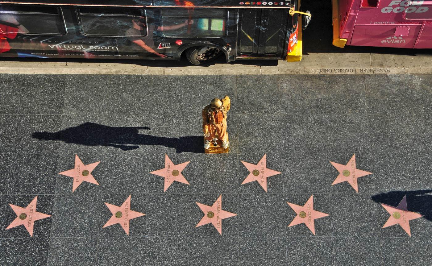 viaje los angeles paseo fama estrellas hollywood