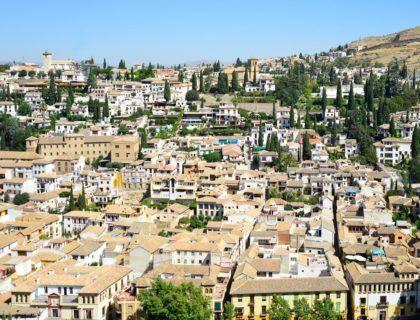 albaicin, barrio historico de granada, fin de semana