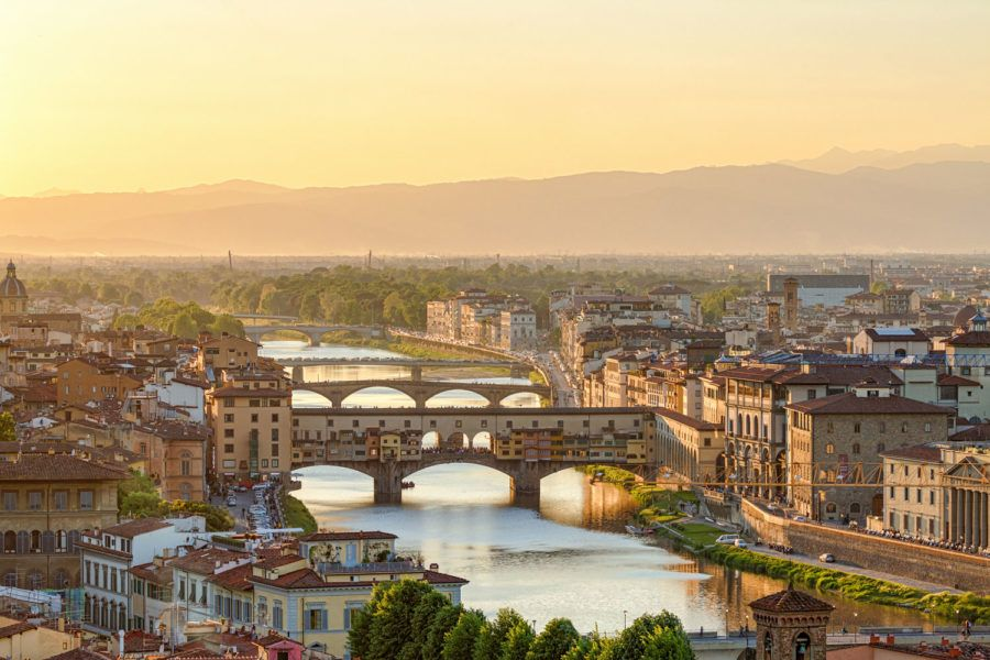 Ponte Vecchio, viaje florencia