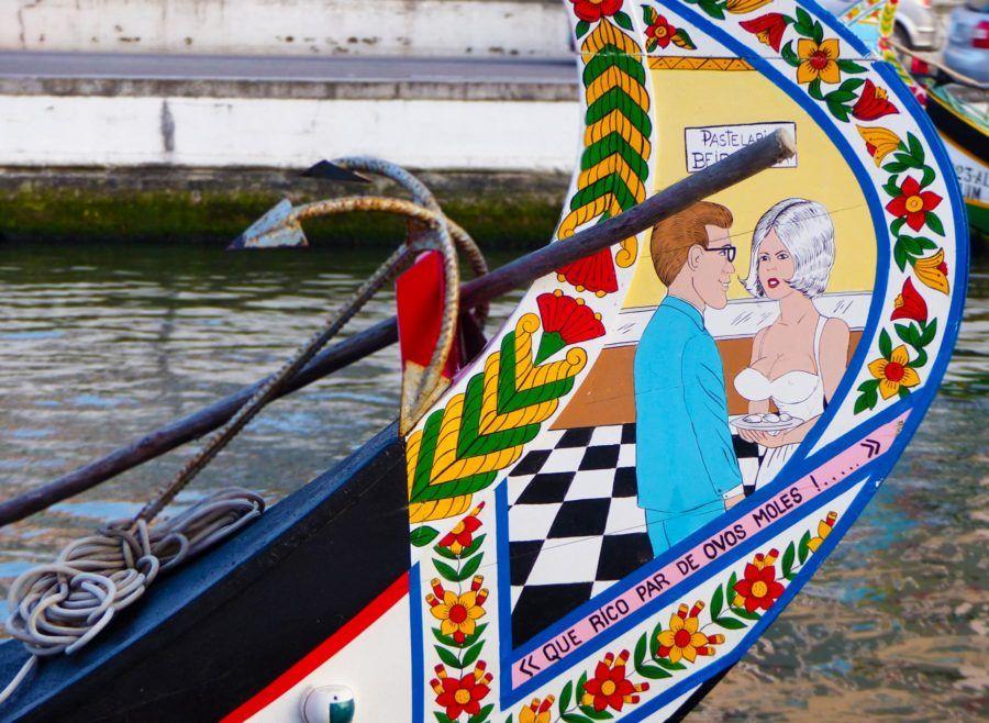 chistes barcos moliceiros aveiro canales