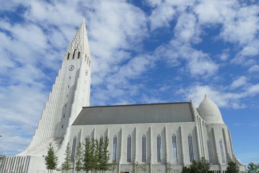 Islandia  iglesia Hallgrimskirkja