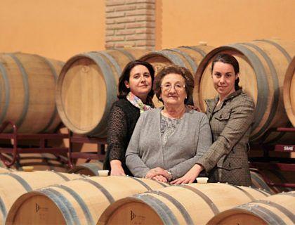 Fe, Blanca y Leyre, de la Bodega Bohedal.