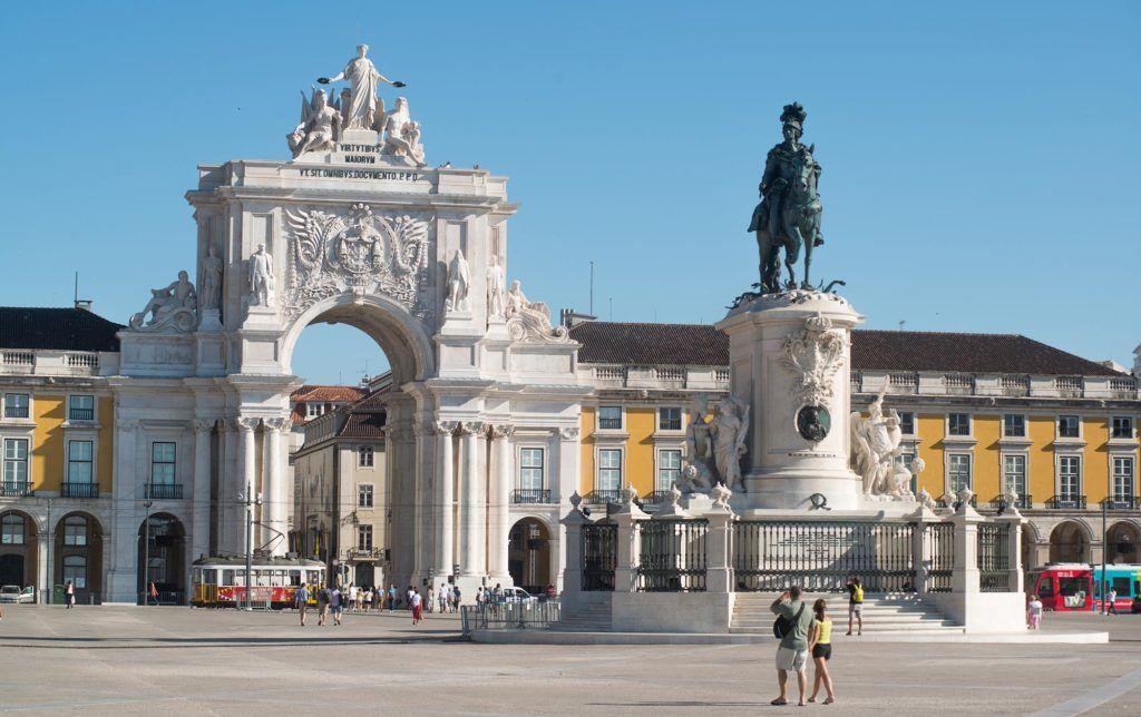 miradores de Lisboa, arco rua augusto, que ver en lisboa