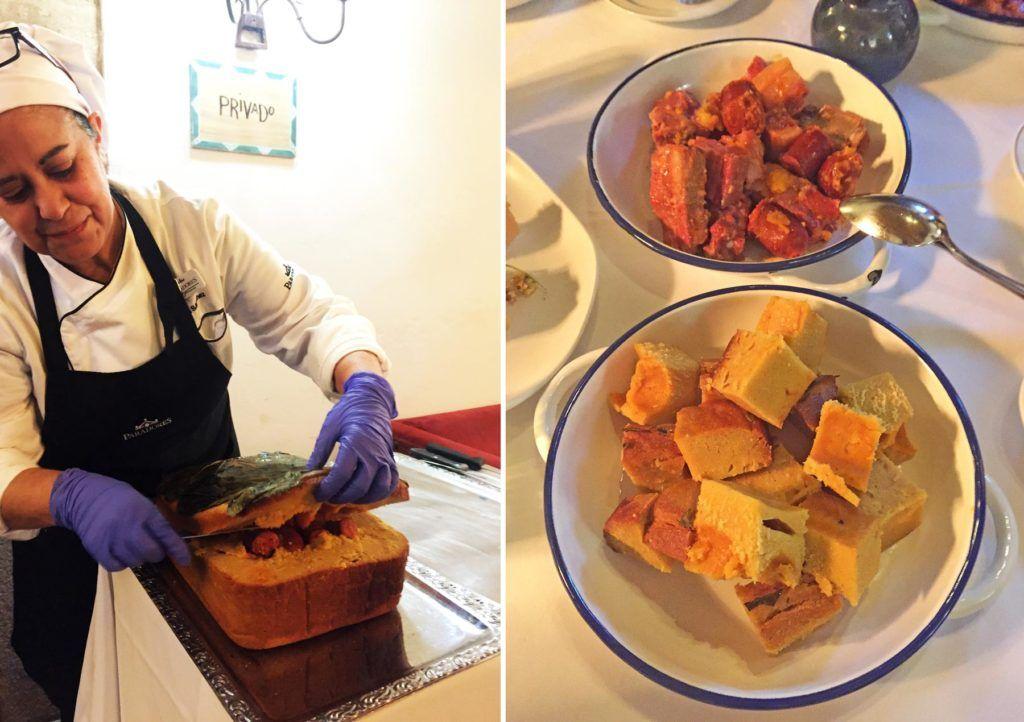 azucena sanchez, cocinera de parador cangas de onis, comida paradores
