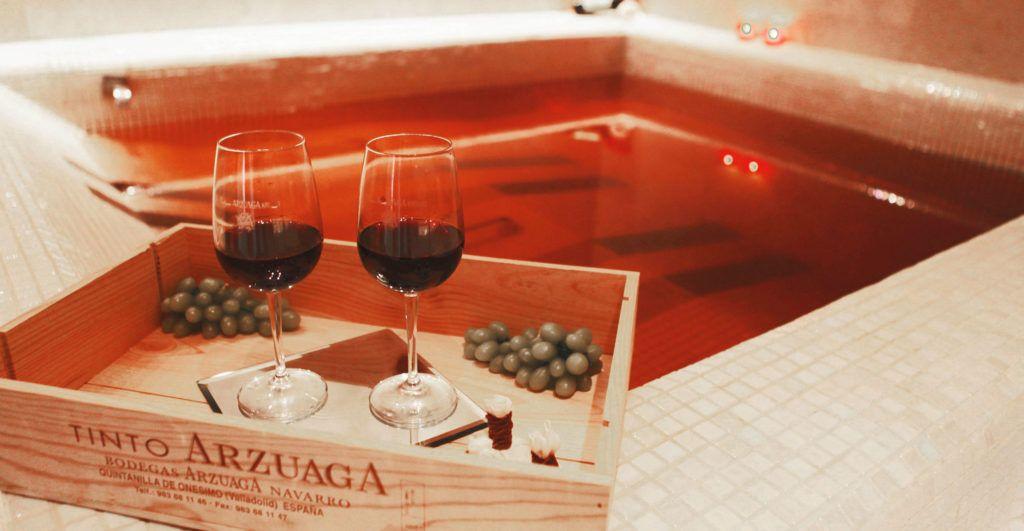 vinoterapia relax descanso viaje