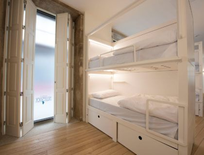 albergue en oporto, hotel barato, hostel oporto