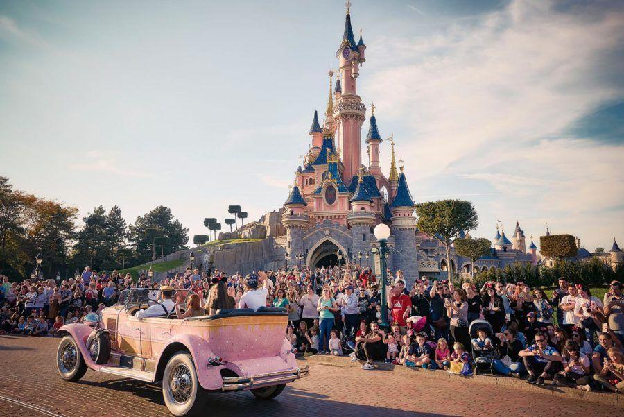 desfile en Disneyland Paris
