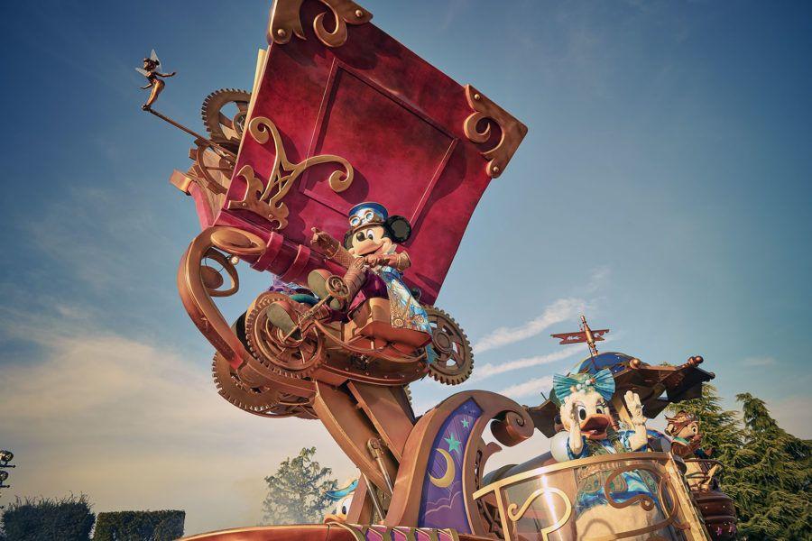 Desfiles con los personajes Disney.