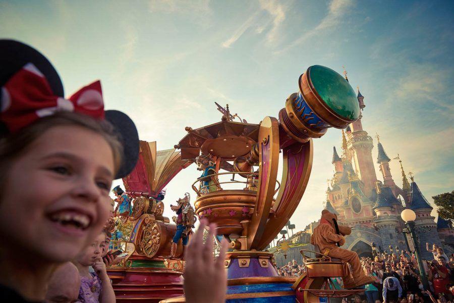 Niños en Disneyland Paris
