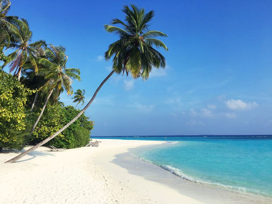 playas  ideales en maldivas