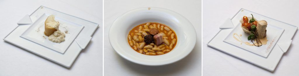 gastronomia asturiana en parador, parador cangas de onis, viaje asturias