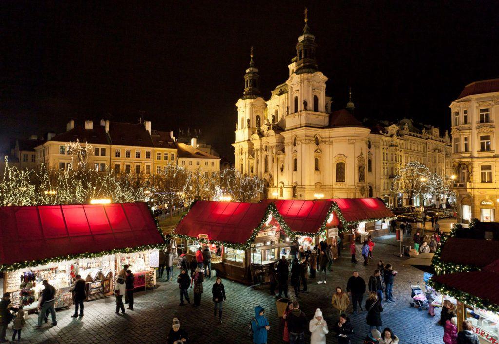 Mercado Navidad República Checa viajes